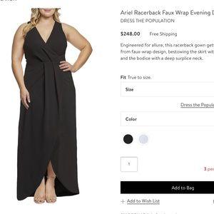 Ariel Racerback gown